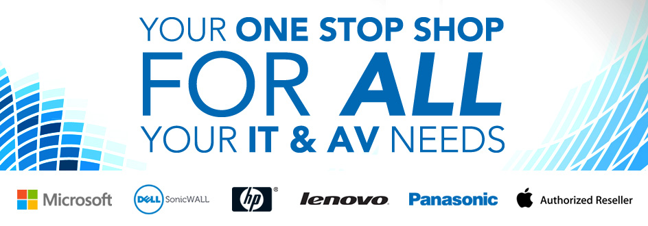 One Stop Shop For All You IT and AV Needs